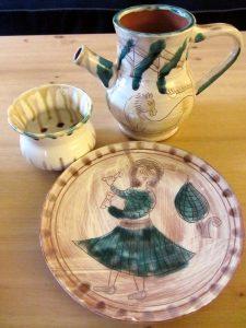 Pottery, by Patrekia Aurelia Gabraina.