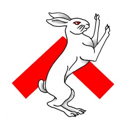 Populace Badge Hare